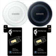 Qi Wireless Fast Charger Pad Ricevitore padreceiver KIT PER SAMSUNG GALAXY S5 /