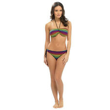BNWL TOM FRANKS VIBRANT STRIPE BIKINI