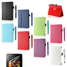 """Folio PU Leather Case Smart Cover Stand for Amazon Kindle Fire HD 7"""" Protec"""