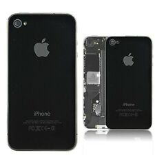 APPLE IPHONE 4 BACK GLASS PLATE OR PANEL/DOOR ( BLACK / WHITE )
