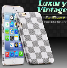 Luxury Pattern Ultra Thin Slim Leather Back Case Skin Cover For Apple Iphone 6
