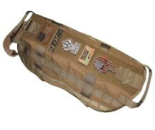 TACTICAL DOG VEST HARNESS K9 HUNTING TRAINING MILITARY ARMY PATCH DESERT TAN