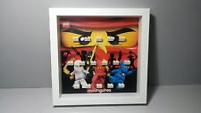 Cornice Vetrina Display Case Lego Minifigures Ninjago