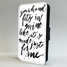 1D Lyrics Little Things  FLIP PHONE CASE COVER fits ALL IPHONE & SAMSUNG