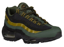 NEW MENS NIKE AIR MAX 95 RUNNING SHOES TRAINERS CARBON GREEN / MILITIA GREE