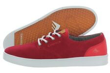 Emerica The Romero Laced 6102000089-600 Red Suede Skate Shoes Medium (D, M)