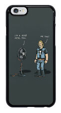 Metal Fan Funny Joke Phone Case Cover for Apple iPhone #0046
