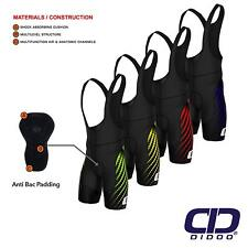 Mens Cycling Bib Shorts Padded Cycling Pants Sublimation Shorts Leggings Sports