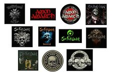 MOTORHEAD amon amarth SIX FEET UNDER black label society OFFICIAL SEW-ON PATCH