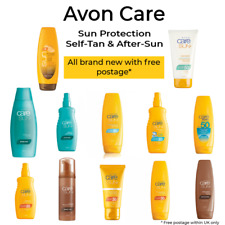 Avon Sun+ Very Water Resistant Sun Lotion & Sprays For Face & Body ~ Various SPF
