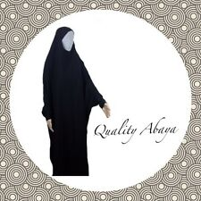 Comfortable all in one Islamic jilbab/abaya head to toe in black colour