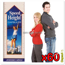 [18114UK] SPEED HEIGHT Capsules Grow Taller Gain Height Herbal Ayurvedic Natural