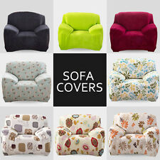 Elastic Easy Fit Stretch Chair Sofa Couch Settee Fabric Slip Over Washable Cover