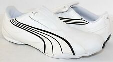 Puma Tergament 185533-01 White Mens Athletic Shoes NWD Size 6 - 14