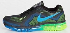 MEN'S NIKE AIR MAX 2014 BLACK BLUE GREEN 621077-005