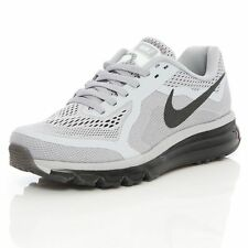 New Men's Nike Air Max 2014 Running Shoes Gray/Black 621077-020 **