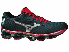 NEW MENS MIZUNO WAVE PROPHECY 4 IV RUNNING SHOES TRAINERS TURBULENCE / SILV