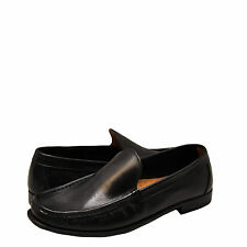 Men's Shoes Kenneth Cole In the Zone Leather Loafer KMF5LE187 Black *New*