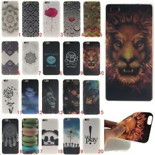 Patterned Ultra Slim Rubber Soft TPU Silicone Back Case Cover For various models