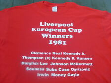 Liverpool Famous European Teams T-Shirts & Sweat Shirts 4XL & 5XL Birthday Gift