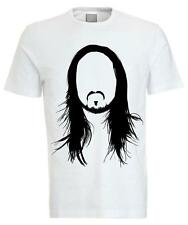 Steve Aoki Cartoon Stencil Crew Neck Tee T-shirt