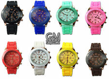 Fashion Wrist Watches Multi Colour Stylish Gift Geneva Quality Watch