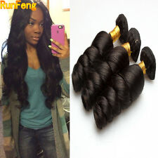 Peruvian Loose Wave Hair Virgin Hair Weave 3 Bundles/150g Human Hair Extension