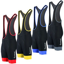 New Men's Road Cycling Bib Shorts Padded Tights Bicycle Racing Performance Wear