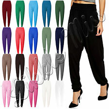 Womens Celebs Harem Baggy Ali Baba Pants Ladies Hareem Trousers Stretch Leggings
