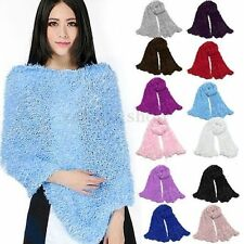 Multi Functional Magic Fluffy Snood Scarf Shawl Neck Warmer Wrap Cardigan