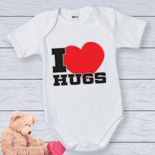 "Bodino Body Neonato ""I Love Hugs"""