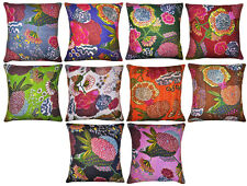 Home Decor Cotton Designer Cushion Cover Pillowcase 10 Optional Colors Pack of 5
