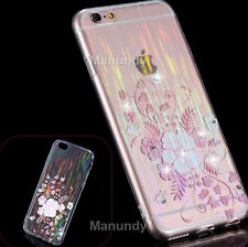 Diamond Glitter Bling Crystal Handmade Rhinestone Soft Case Cover For Iphone 6