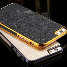 Protective Hybrid Plating Hard PC Frame Back Case Cover For Apple iPhone 6 6s