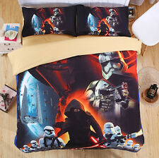 Star Wars Set letto Copripiumone Lenzuolo Federa Duvet Cover Set DUVSW01