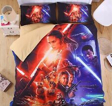 Star Wars Set letto Copripiumone Lenzuolo Federa Duvet Cover Set - DUVSW02