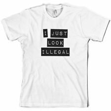 I Just Look Illegal - Herren T-Shirt - Lustig - Spieler - 10 Farben