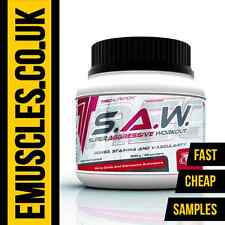 Trec Nutrition S.A.W. SAW Super Aggressive Workout Best Pre-workout Powder Shot