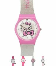 GINNASTICA Hello Kitty Bambina Analogue Orologio Pink/White Spot