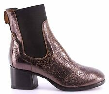 MOMA Scarpe Stivaletto Donna Ankle Boots 94505-7B Old Boy New Car Vintage Italy