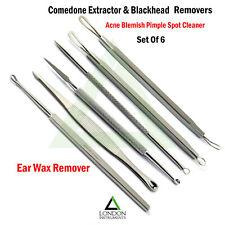 Blackhead Remover Facial Clean Pore Acne Pimple Extractor Comedone Removal Tool