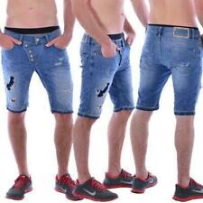 Red Bridge Jeans M 4822 Redbridge Herren Destroyed blau Shorts kurze Hose blue