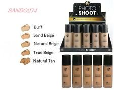 Official W7 Photo Shoot 16 Hour Budge Proof Foundation Choose Your Shade