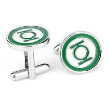 Mens Pair of Novelty Green Lantern Cufflinks Cuff Links Super Hero