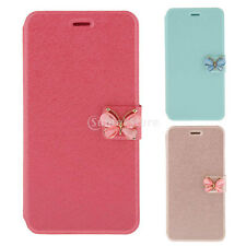 1x Luxury Flip Leather Slim Wallet Card Magnetic Case Cover for iPhone 6 6S Plus