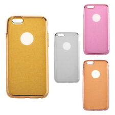 New Bling Glitter Shock-Proof Silicone Case Cover Clear for iPhone Variety Model