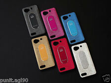 Dual Tone Soft Rubber Back Cover Case Metal Plate For Micromax Canvas Duet AE90