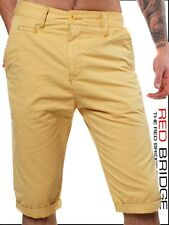 Redbridge by Cipo & Baxx Herren Chino Shorts Bermuda RB-1012 gelb