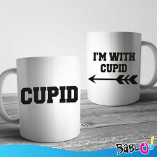 """Coppia Di Tazze Love You And Me """"Cupid"""""""