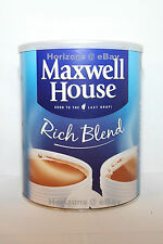 Maxwell House Coffee - Rich Blend Coffee 750g Large Tin [Free UK Postage]